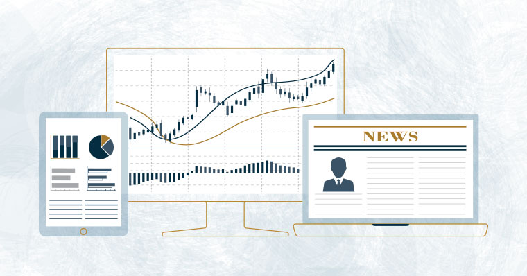 graphs and stock market illustration