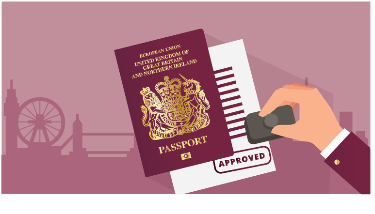 British passport is approved