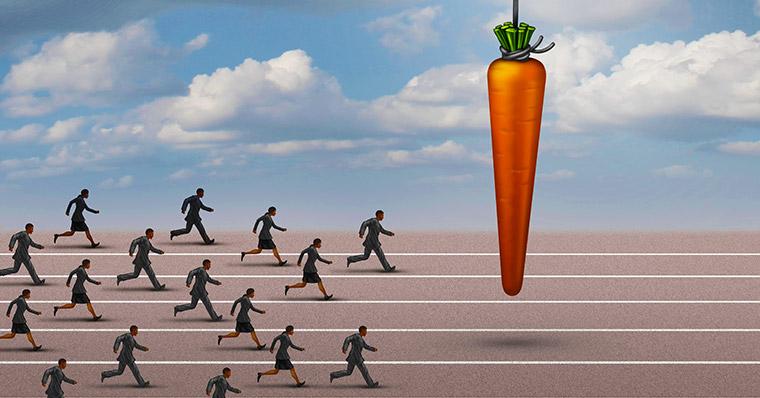 Carrot running track