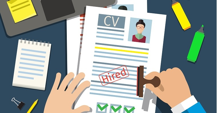 Picture of persons CV