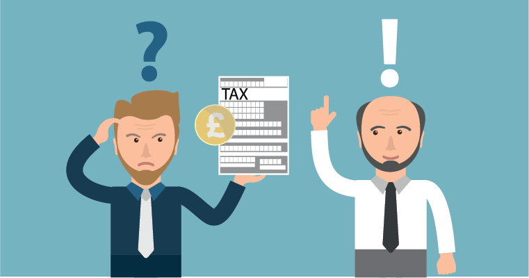Man confused about tax