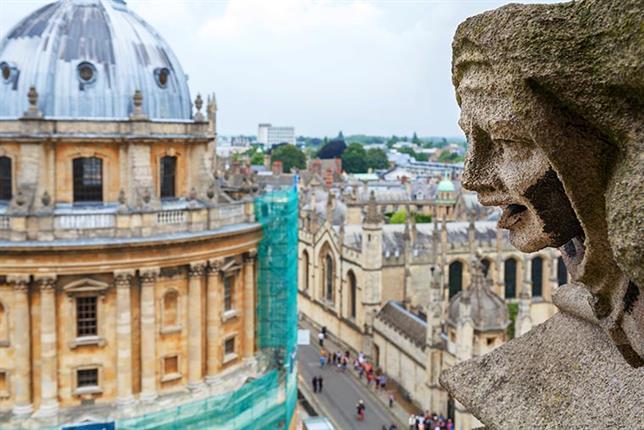 Oxford University St Mary church