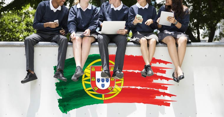 portugal school children