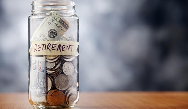 Retirement plan in a jar