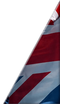 British flag - right