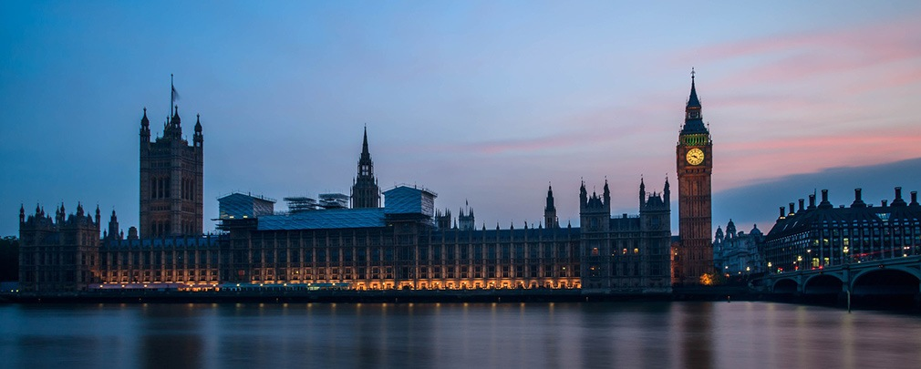Big Ben and Houses of Parliament along the Thames